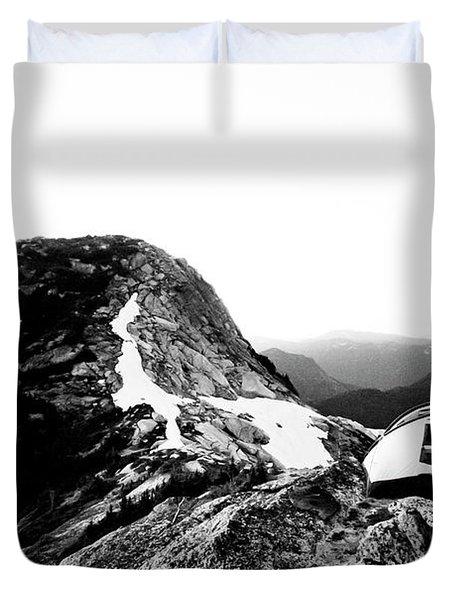 Yak Peak Duvet Cover