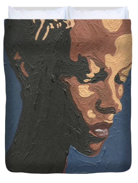 Yasmin Warsame Duvet Cover