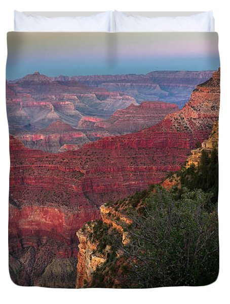 Yavapai Point Grand Canyon Duvet Cover