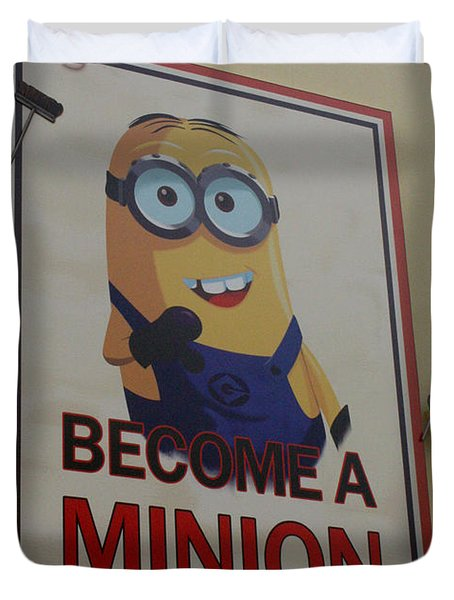 Year Of The Minions Duvet Cover