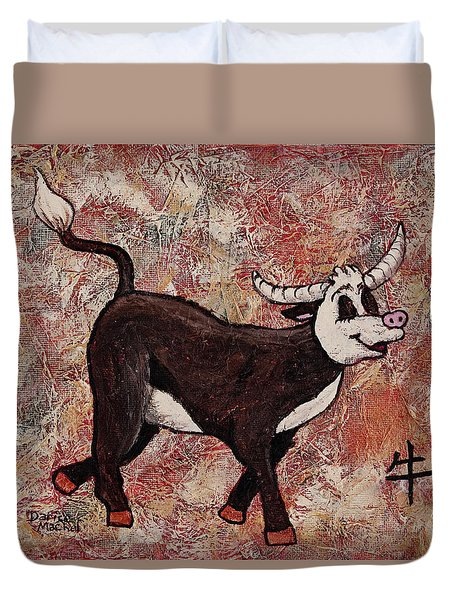 Year Of The Ox Duvet Cover