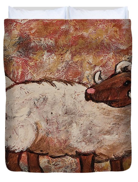 Year Of The Ram  Duvet Cover