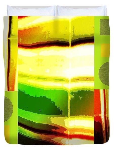 Yellow Bliss Duvet Cover