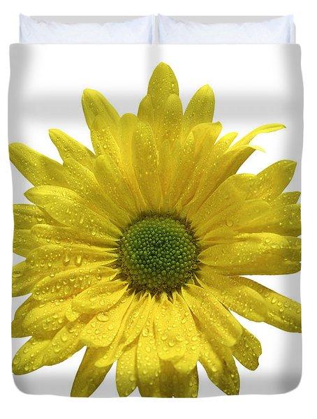 Yellow Daisy  Duvet Cover by Mauro Celotti