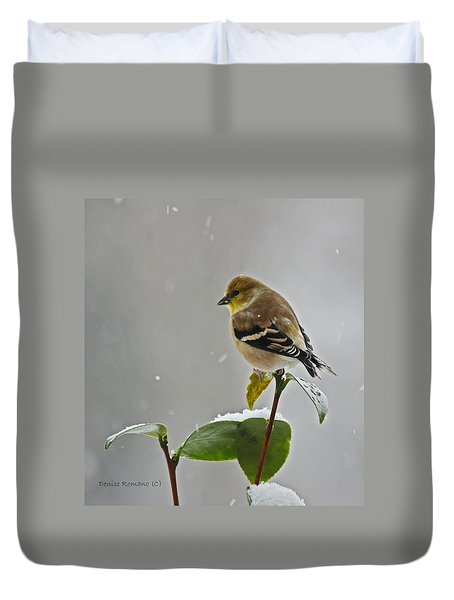Goldfinch Duvet Cover