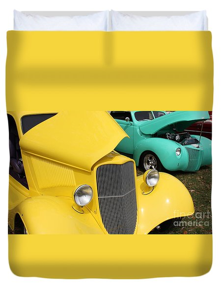 Yellow Pistachio Duvet Cover