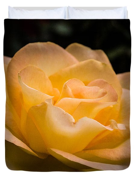 Yellow Ray Of Sunshine Duvet Cover