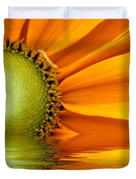 Yellow Sunflower Sunrise Duvet Cover