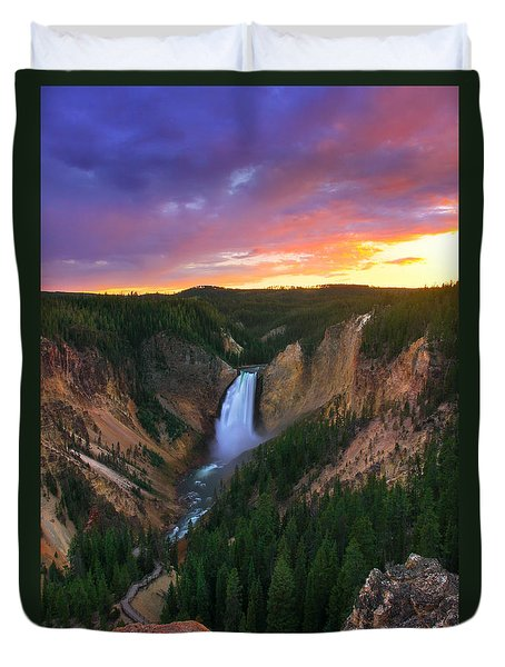 Yellowstone Beauty Duvet Cover