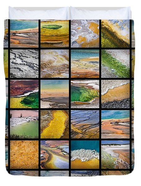 Yellowstone Colors Duvet Cover