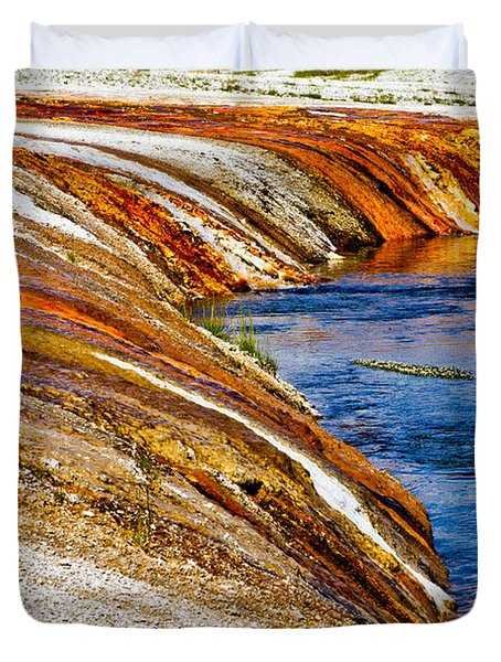 Yellowstone Earthtones Duvet Cover