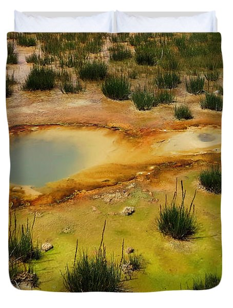 Yellowstone Hot Pool Duvet Cover