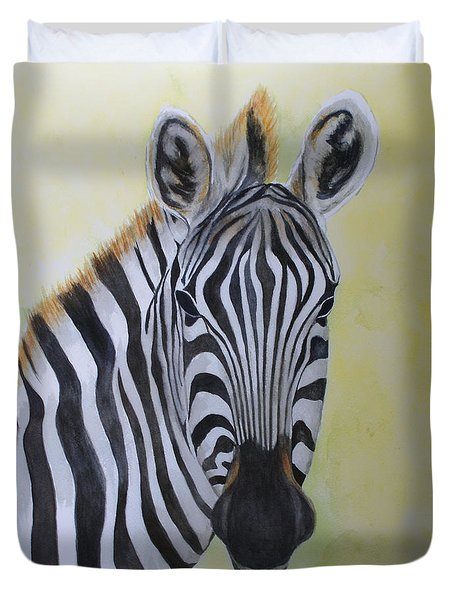Yipes Stripes Duvet Cover