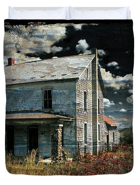 Yoooo Hooooo Duvet Cover by Lois Bryan