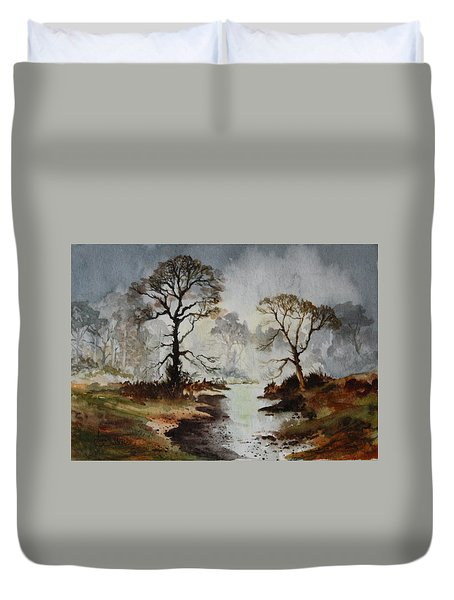 Yorkshire Dales Duvet Cover by Jean Walker
