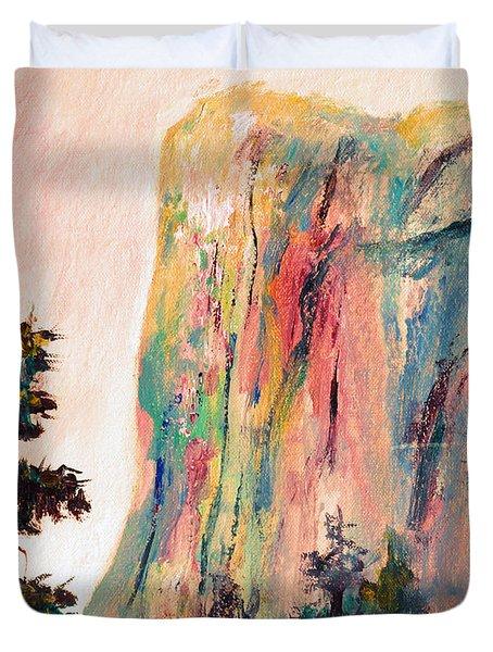 Yosemite El Capitan Duvet Cover