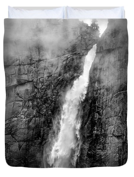 Yosemite Fall Duvet Cover