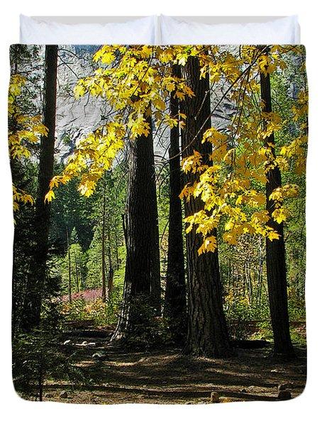 Yosemite Fen Way Duvet Cover by John Haldane
