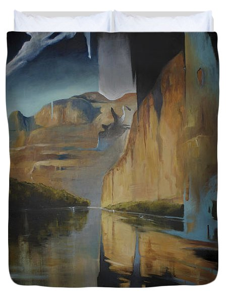 Yosemite Duvet Cover by Lin Petershagen