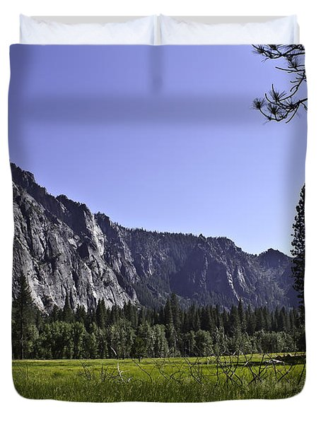 Duvet Cover featuring the photograph Yosemite Meadow by Brian Williamson