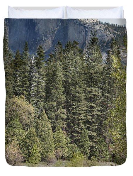 Yosemite National Park. Half Dome Duvet Cover by Juli Scalzi