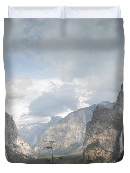Yosemite National Park Duvet Cover by Juli Scalzi
