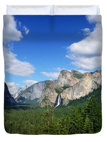 Yosemite National Park Duvet Cover