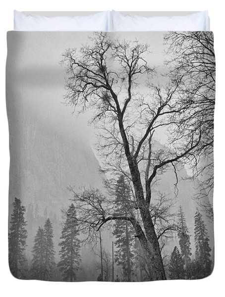 Yosemite Storm Duvet Cover by Priya Ghose