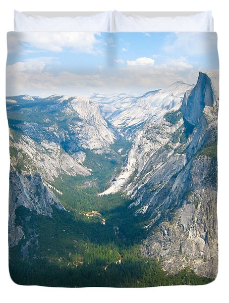 Yosemite Summers Duvet Cover by Heidi Smith