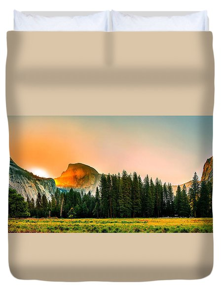 Sunrise Surprise Duvet Cover