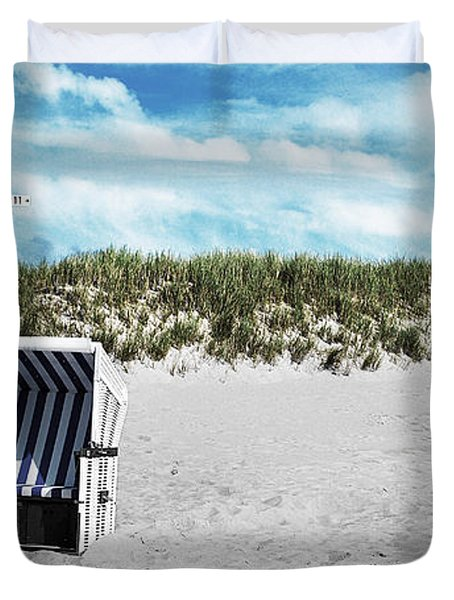 You And Me And ... Duvet Cover by Hannes Cmarits
