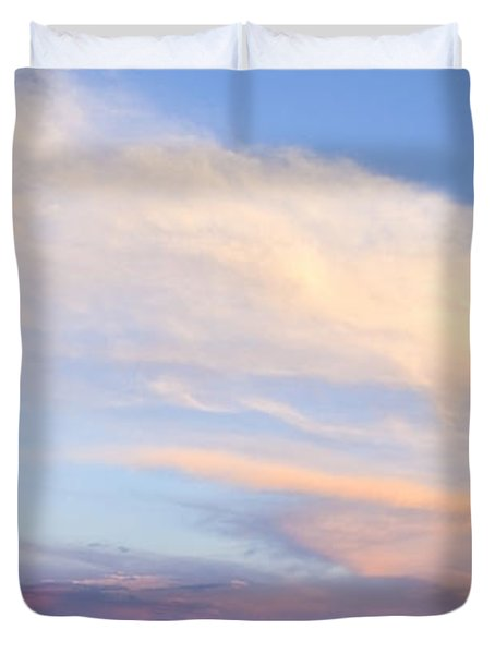 You Can Almost Hear Them Singing Duvet Cover by Theresa Tahara