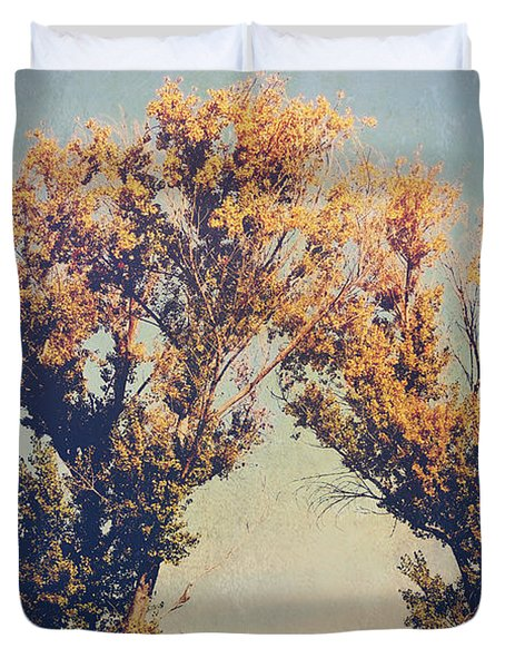 You Were Meant For Me Duvet Cover by Laurie Search