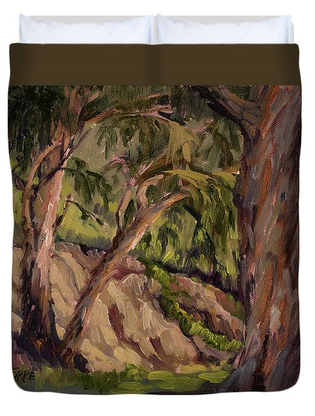 Young And Old Eucalyptus Duvet Cover
