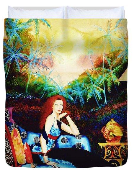 Young Debutante Duvet Cover