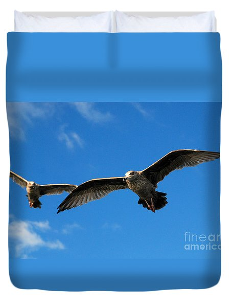 Young Wings Duvet Cover