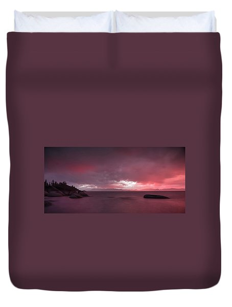 Your Innocent Smile Used To Drive Me Wild Duvet Cover