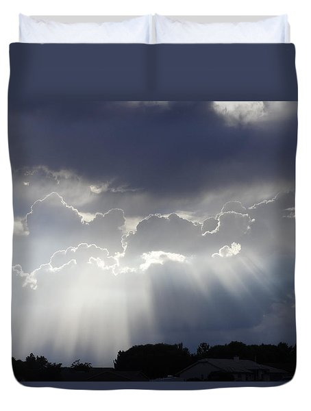 Your Welcome Duvet Cover by Fred Wilson