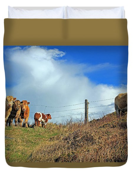 Youth In Defiance Duvet Cover