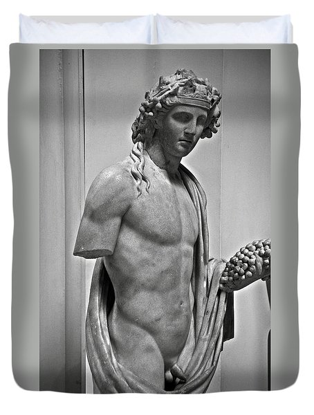 Youthful Dionysus Duvet Cover