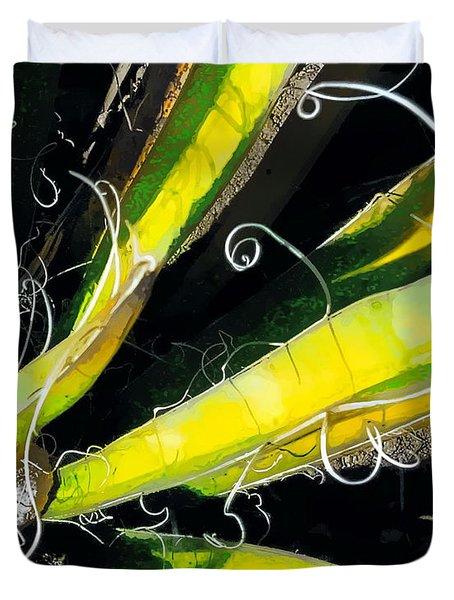 Yucca Spirals Duvet Cover