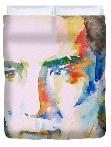 Yukio Mishima Duvet Cover
