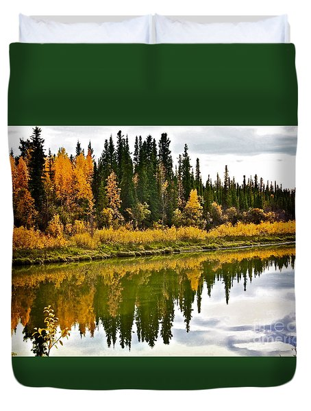 Yukon Autumn Duvet Cover