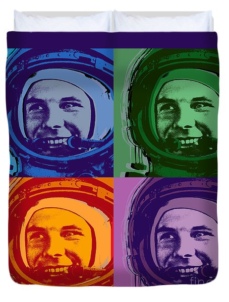 Yuri Gagarin  Duvet Cover