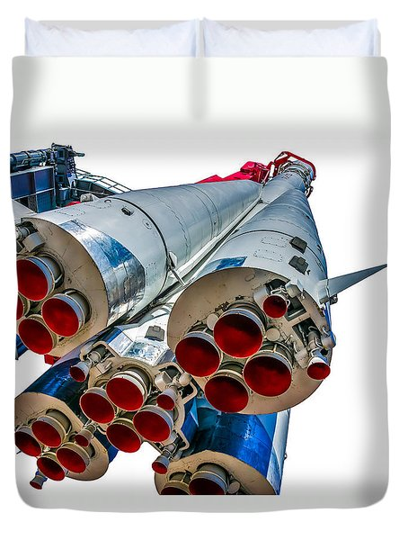 Yuri Gagarin's Spacecraft Vostok-1 - 5 Duvet Cover
