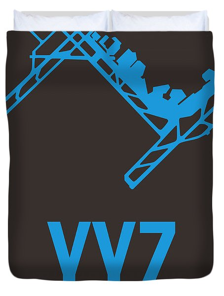Yyz Toronto Airport Poster 2 Duvet Cover