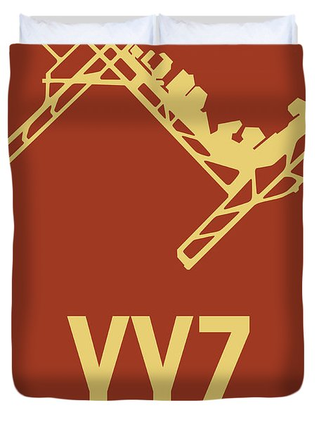 Yyz Toronto Airport Poster 3 Duvet Cover