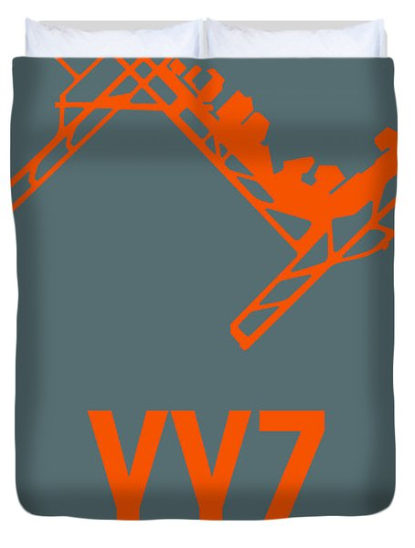Yyz Toronto Airport Poster Duvet Cover