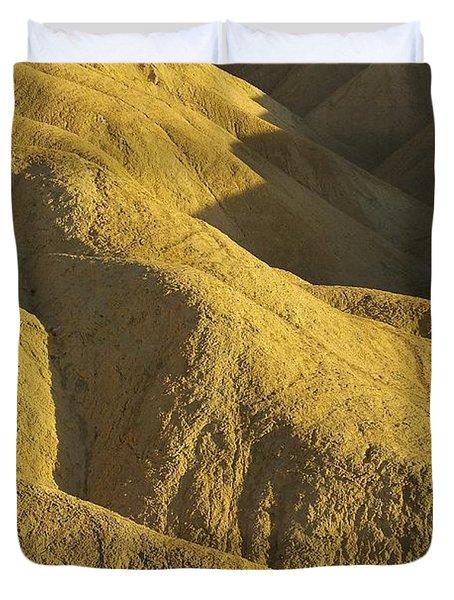 Duvet Cover featuring the photograph Zabriski Point #4 by Stuart Litoff