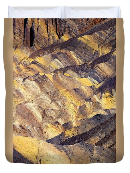 Zabriskie Color Duvet Cover
